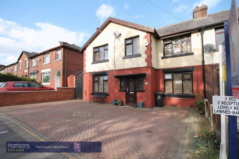3 Bedrooms Semi Detached House for sale in Lavender Road, Farnworth, Bolton, Lancashire.