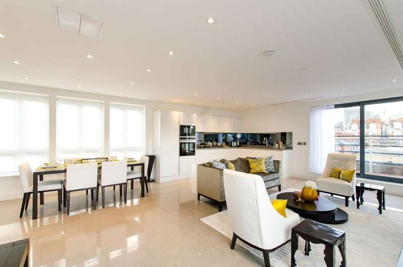 3 Bedrooms Flat for sale in Willow House, Westminster, SW1P