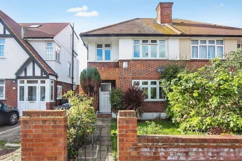 3 Bedrooms Semi Detached House for sale in Chinnor Crescent, Greenford