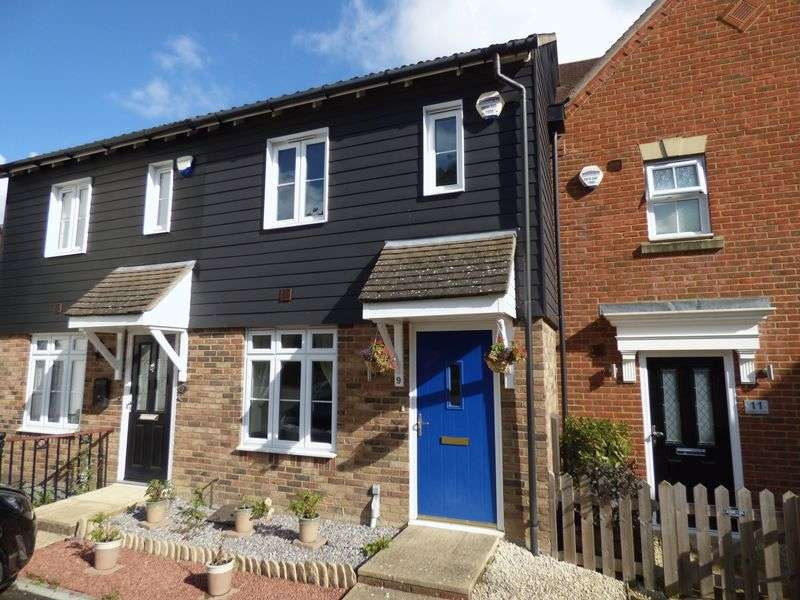 2 Bedrooms Terraced House for sale in Stowell Close, Ashford