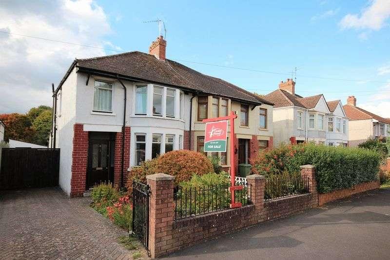 3 Bedrooms Semi Detached House for sale in Fairways Crescent, Fairwater