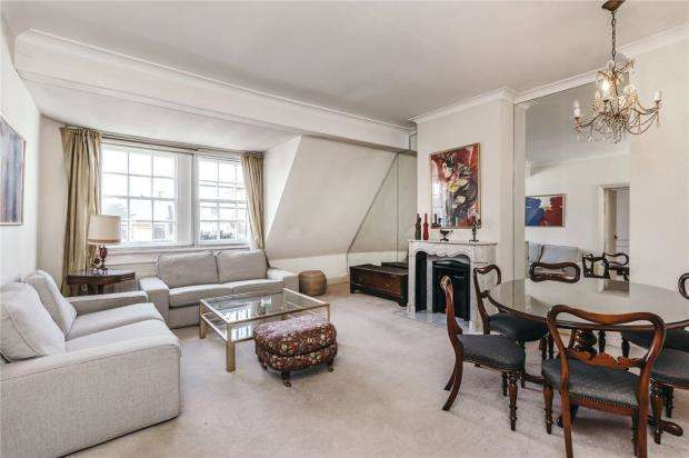 2 Bedrooms Flat for sale in Pont Street, London, SW1X