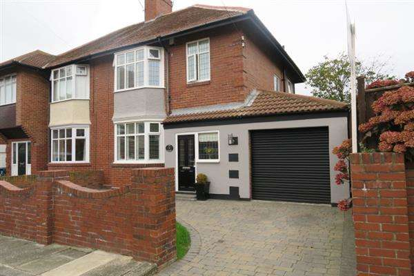 3 Bedrooms Semi Detached House for sale in The Leazes, Harton Village, South Shields