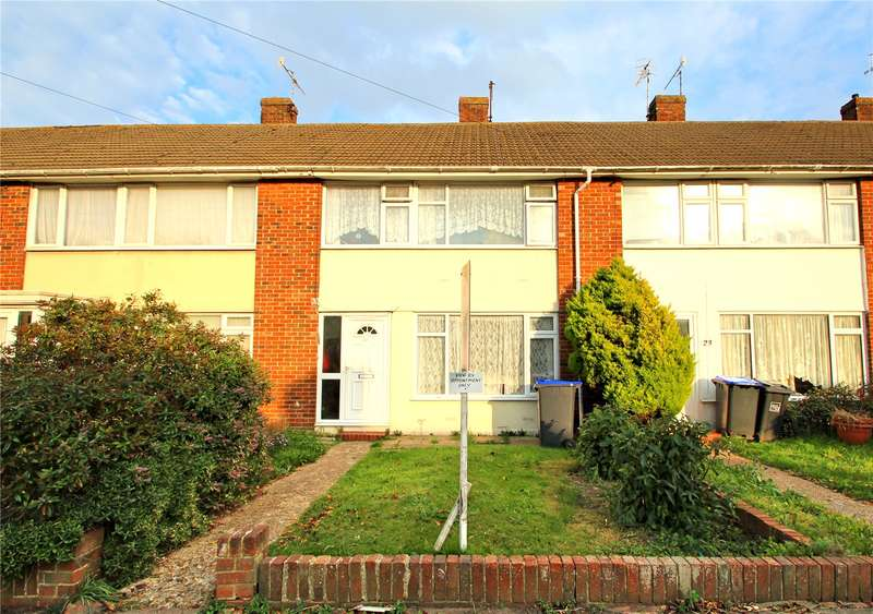 3 Bedrooms Terraced House for sale in Thesiger Road, Worthing, West Sussex, BN11