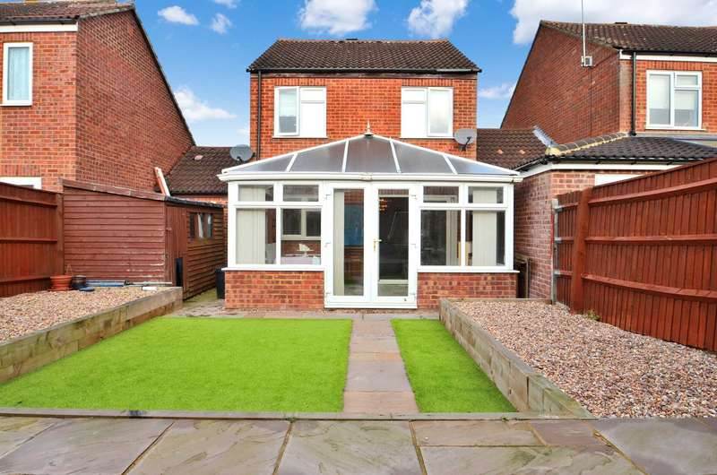 4 Bedrooms Link Detached House for sale in Granes End, Great Linford