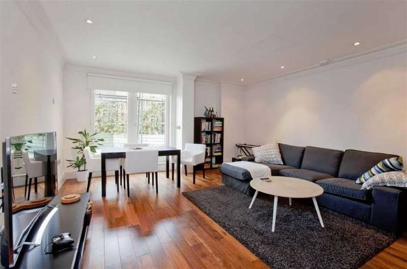 2 Bedrooms Flat for sale in West Heath Place, London, NW11