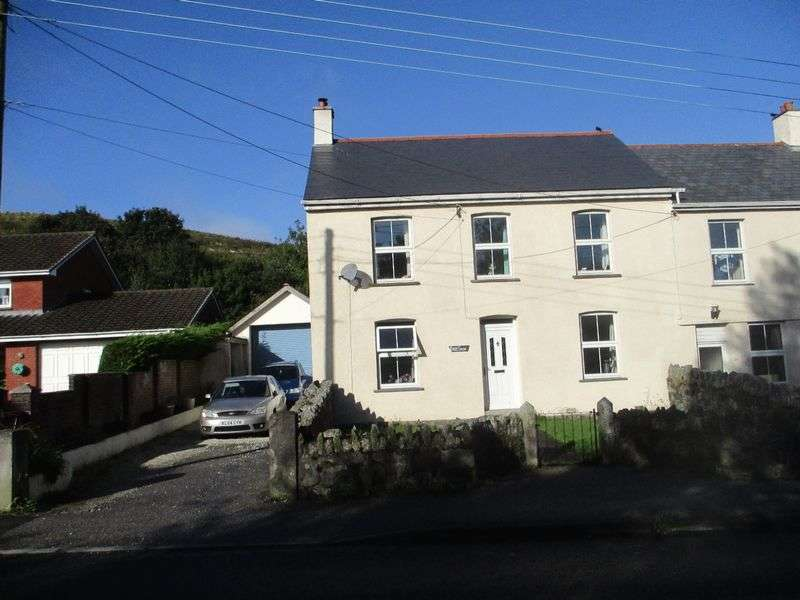 4 Bedrooms Semi Detached House for sale in Higher Bugle, St Austell