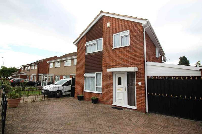 4 Bedrooms Detached House for sale in Trevino Drive, Rushey Mead