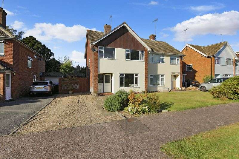 3 Bedrooms Semi Detached House for sale in Squires Close, Crawley Down, West Sussex