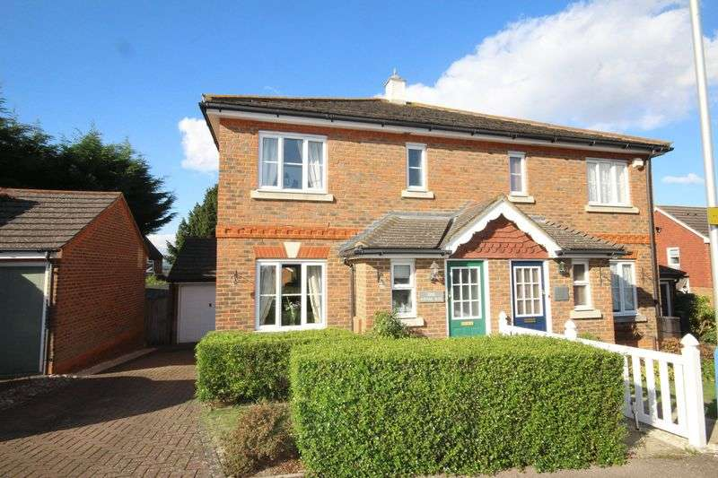3 Bedrooms Semi Detached House for sale in Royal Rise, Tonbridge