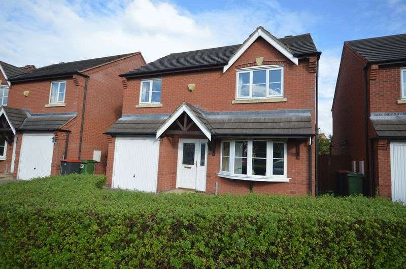4 Bedrooms Detached House for sale in Ambleside Way, Telford