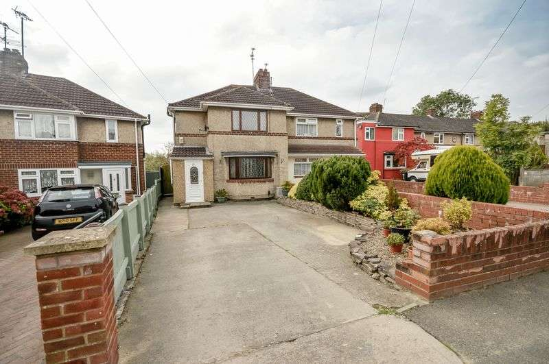 3 Bedrooms Semi Detached House for sale in Newburn Crescent, Swindon