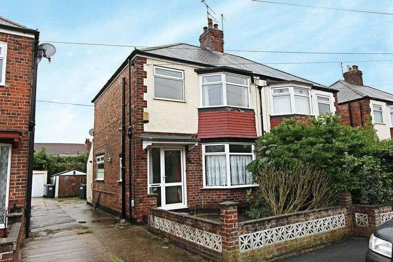3 Bedrooms Semi Detached House for sale in Campion Avenue, Hull