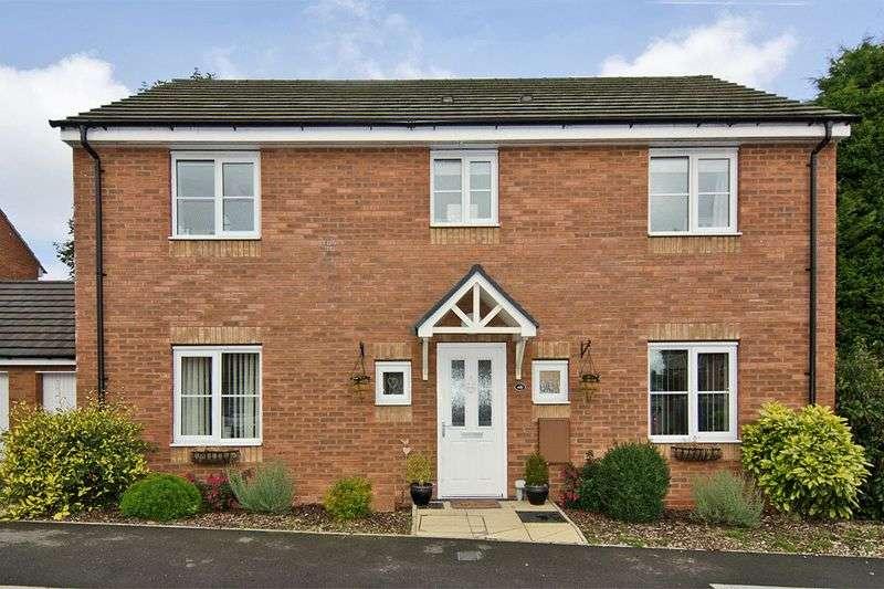 4 Bedrooms Detached House for sale in Levett Grange, Rugeley