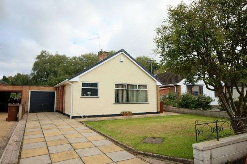 2 Bedrooms Detached Bungalow for sale in Whitethorn Avenue, Barlaston