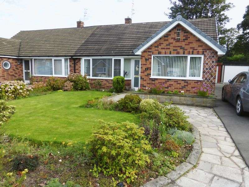 2 Bedrooms Semi Detached Bungalow for sale in Lanedale, Longton, Preston