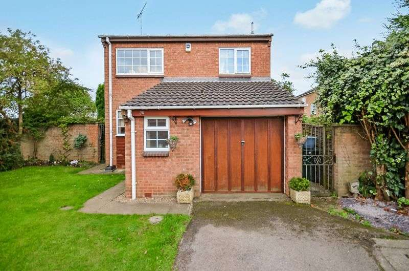 4 Bedrooms Detached House for sale in 26 Bonington Rise, Maltby, Rotherham, S66