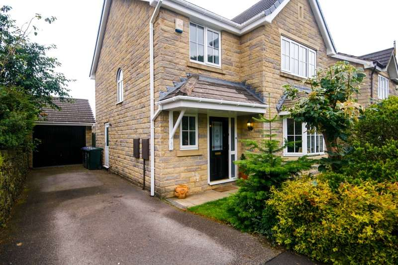 4 Bedrooms Detached House for sale in Oakhall Park, Bradford, West Yorkshire, BD13