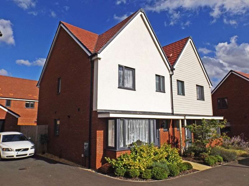 3 Bedrooms Semi Detached House for sale in Folkes road, Wootton, Bedfordshire, MK43