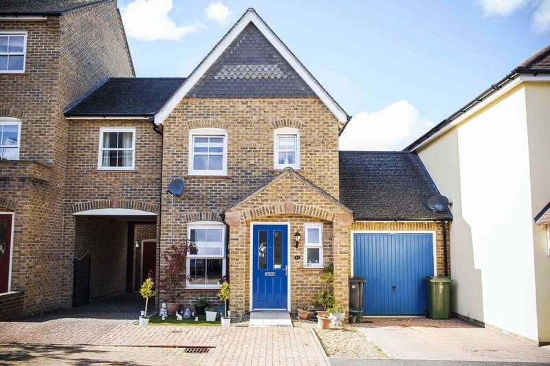 2 Bedrooms Terraced House for sale in Crofton Square, Sherfield Park