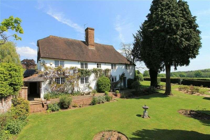 5 Bedrooms Detached House for sale in Claygate Lane, Shipbourne, Tonbridge