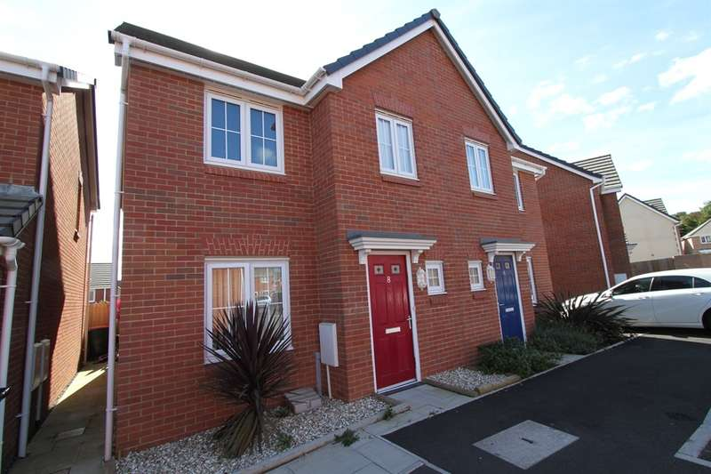 3 Bedrooms Semi Detached House for sale in Clos Marteg, Bettws, Newport