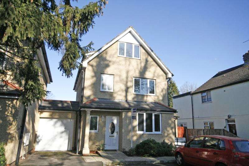 4 Bedrooms Detached House for sale in Ongar Road, Addlestone, Surrey, KT15