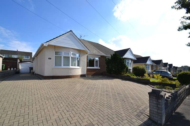 2 Bedrooms Semi Detached Bungalow for sale in 24 Heol Nant Castan , Rhiwbina, Cardiff. CF14 6RP