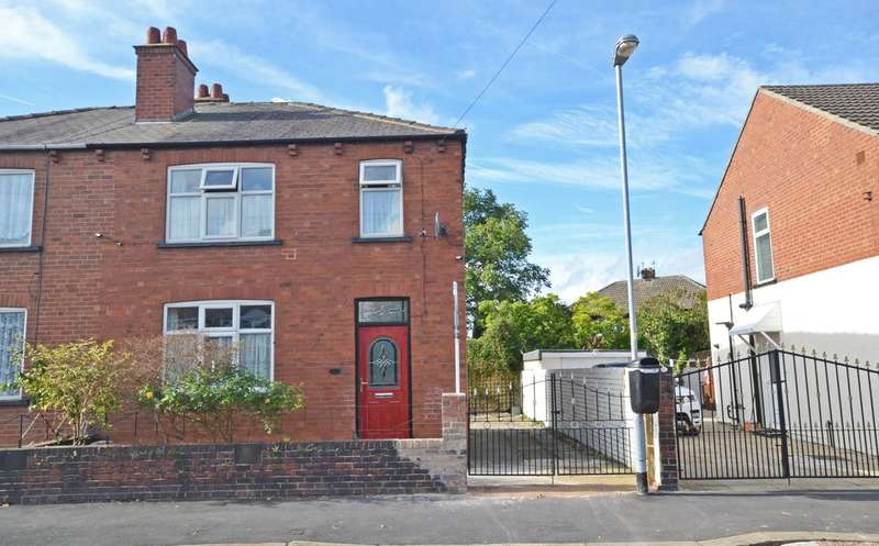 3 Bedrooms Semi Detached House for sale in Maybush Road, Wakefield