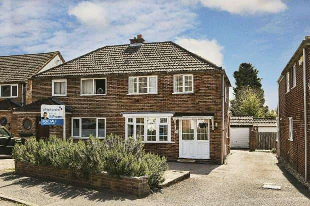 2 Bedrooms Semi Detached House for sale in Shirley Avenue Reading