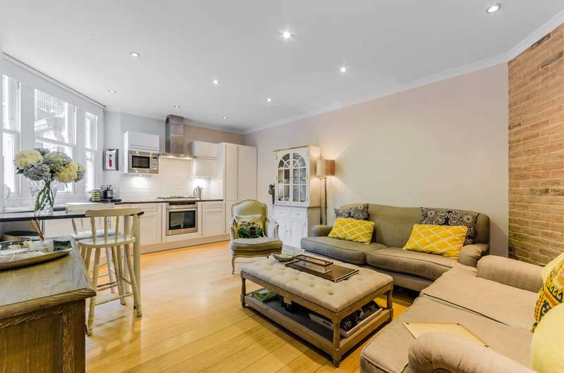 2 Bedrooms Flat for sale in Montagu Mansions, Marylebone, W1U