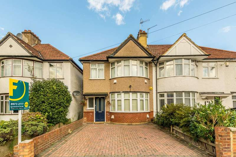 3 Bedrooms House for sale in Sidmouth Avenue, Isleworth, TW7