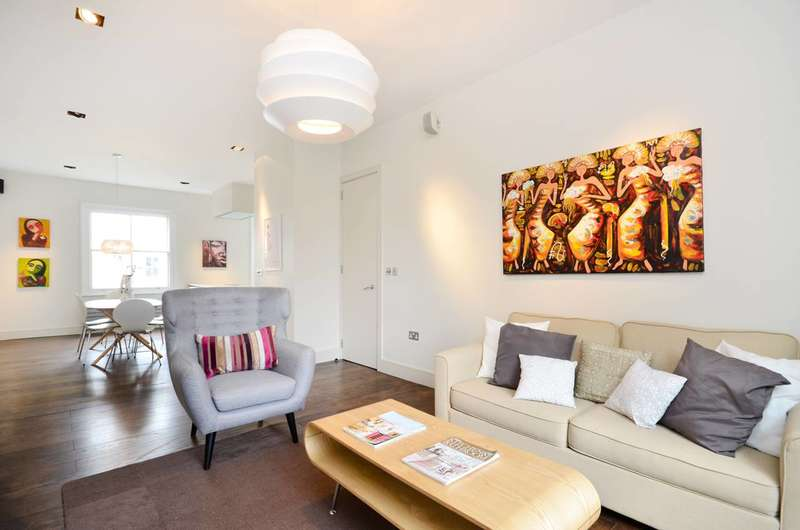2 Bedrooms Flat for sale in Leamington Road Villas, Notting Hill, W11