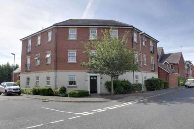 2 Bedrooms Flat for sale in Williams Drive, Nottingham, Nottinghamshire, NG14 6BN