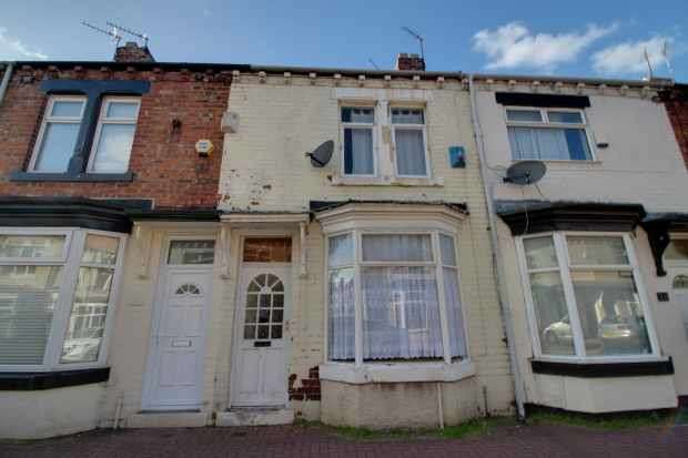 2 Bedrooms Terraced House for sale in Costa Street, Middlesbrough, Cleveland, TS1 4PH