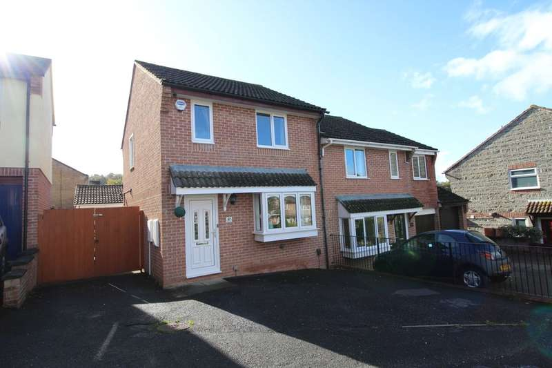 3 Bedrooms Semi Detached House for sale in Chestnut Drive, Newton Abbot, TQ12