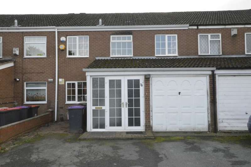4 Bedrooms Semi Detached House for sale in Churncote, Stirchley, Telford, TF3