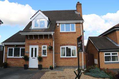 3 Bedrooms Detached House for sale in Churchlands Lane, Standish, Wigan, Greater Manchester, WN6