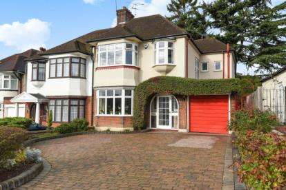 4 Bedrooms Semi Detached House for sale in Manor Drive, Whetstone
