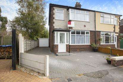 3 Bedrooms Semi Detached House for sale in The Crescent, Lostock Hall, Preston, Lancashire