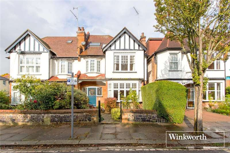 5 Bedrooms Semi Detached House for sale in Clifton Avenue, Finchley, London, N3