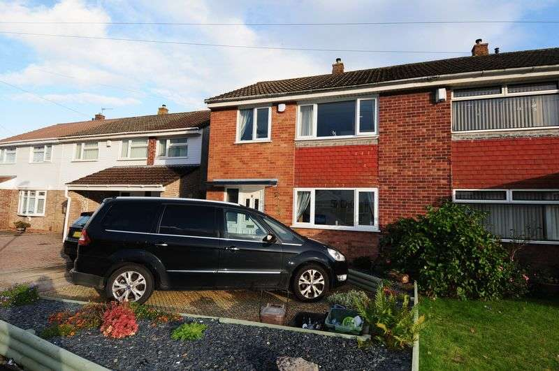 3 Bedrooms Semi Detached House for sale in Harrington Road, Stockwood, Bristol, BS14