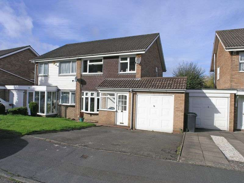 3 Bedrooms Semi Detached House for sale in STOURBRIDGE, Pedmore Hill, Seymour Road