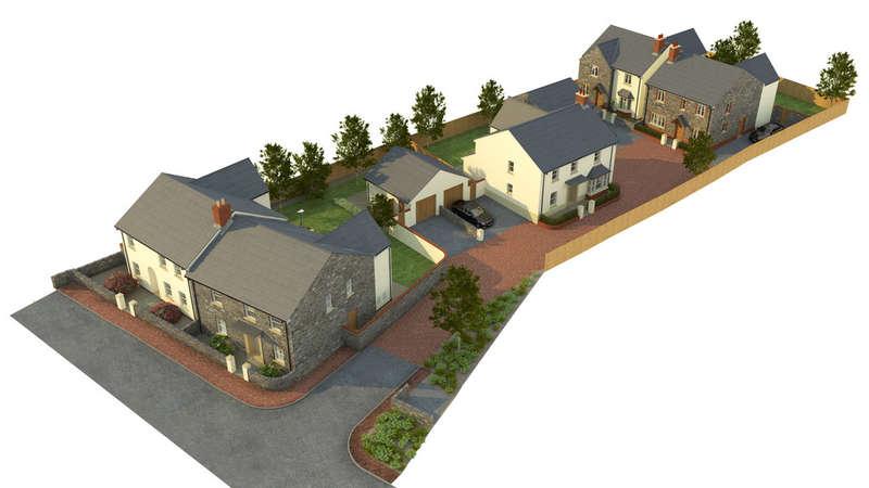 4 Bedrooms Detached House for sale in Augusta Court, Cowbridge, Vale of Glamorgan, CF71 7DF
