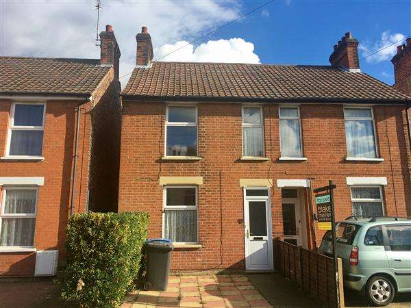 3 Bedrooms Semi Detached House for sale in Parliament Road, Ipswich