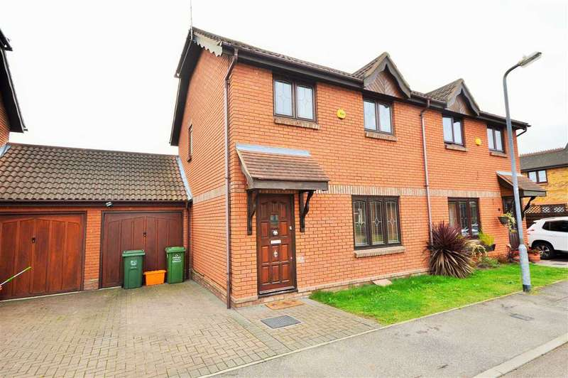 3 Bedrooms Semi Detached House for sale in Potton Drive, Wickford