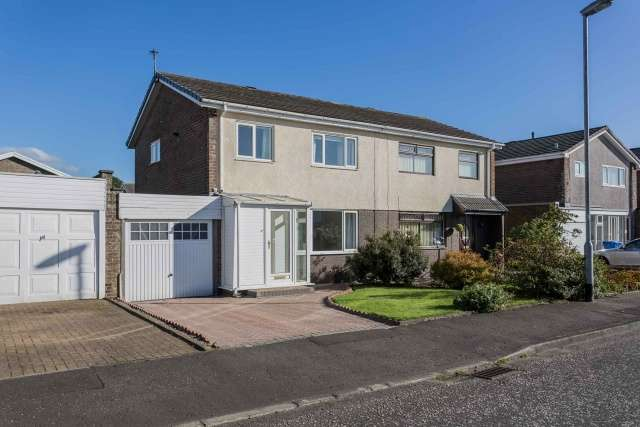 3 Bedrooms Semi Detached House for sale in Turnberry Court, Kilwinning, North Ayrshire, KA13 6QJ