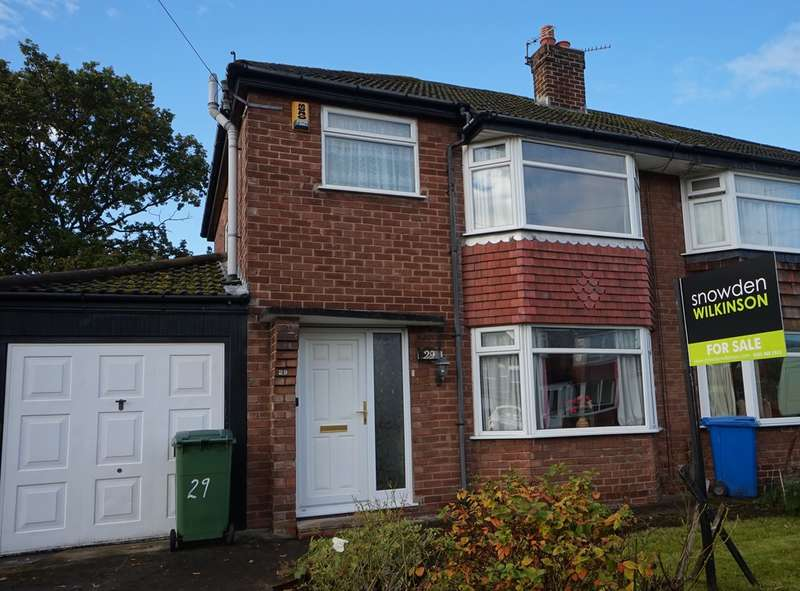 3 Bedrooms Semi Detached House for sale in Arundel Road, Cheadle Hulme