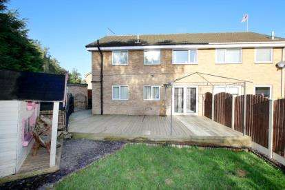 4 Bedrooms Semi Detached House for sale in Bramley Grange Rise, Bramley, Rotherham, South Yorkshire
