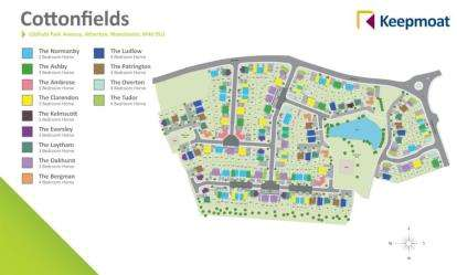 4 Bedrooms Detached House for sale in Cotton Park, Gibfield Park Avenue, Atherton, Manchester